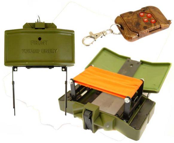 Страйкбольная мина с дистанционным управлением своими руками 21